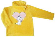 Neu! Disney Aristocats Fleece-Pullover Fleecepullover Sweatshirt gelb 80 86 92