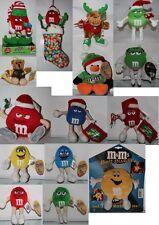 M&M's/M&M Plüsch Plüschfigur AUSSUCHEN:Pinguin,Elf,Elch, Bär,Weihnachtsstiefel