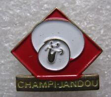 Pin's Alimentation CHAMPI JANDOU Champignon Mushroom #455