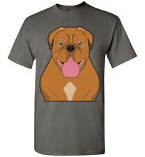 Dogue de Bordeaux Cartoon T-Shirt Tee - Men Women Youth Tank Long french mastiff