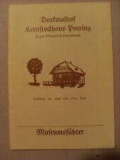 Museumsführer Denkmalhof Poering  bei Gampern