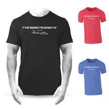 Muhammad Ali Bragging Quote Premium T-shirt Boxing