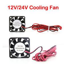 4010 40X40X10mm Brushless Cooling Fan Cooler 0.06A 12V /24V DC 2 Pin New