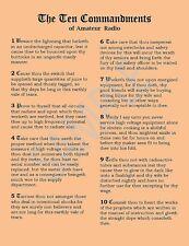 The 10 Commandments of Amateur Radio * Ham Radio Humor
