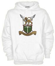 Felpa Rhodesian Army J594 Be Man Among Men Forze Speciali Hoodie Rhodesia Fregio
