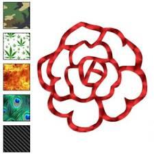 Rose Flower Decal Sticker Choose Pattern + Size #581