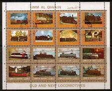 Umm Al Qiwain Mi1210/25 1972 locomotoras F/Usado