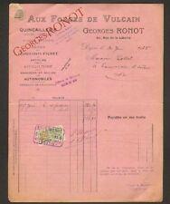 """DIJON (21) AUX FORGES de VULCAIN """"G. RONOT"""" en 1925"""