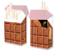 Süße Hülle für Zigarettenschachteln indo slipp Schokolade Papp-Etui Schoko Hlle