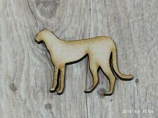 MDF Wild Animal PANTHA shape Embellishment Crafting Supplies