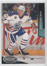 1993-94 Parkhurst #65 Igor Kravchuk Edmonton Oilers Hockey Card