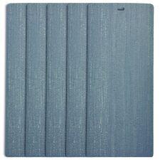 DALIX Arctic Vertical Window Blinds Premium Textured Set 5 Pack Qty / Blue Ice