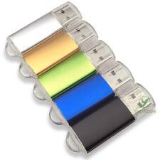 Bulk 5PCS 128MB 256MB 512MB 2GB 4GB 8GB Memory Flash USB Drive Metal Key 2.0