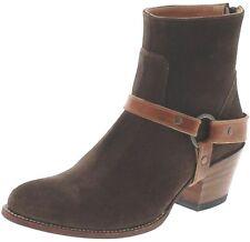 Sendra Boots 15436 Delave Ebano Lederstiefel für Damen Braun Damenstiefelette