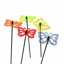SunCatcher: 5x SONNENFÄNGER Schmetterling 6cm Garten Deko Stecker Balkon Terasse