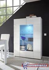 mobili e pensili vetrina bianca senza marca per la casa | ebay - Vetrina Soggiorno Bianca 2