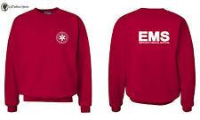 Emergency Medical Services EMS Logo Paramedic Sweatshirts