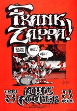 Frank Zappa & Alice Cooper..  Rare 1968 Vintage Concert Poster A1A2A3A4Sizes