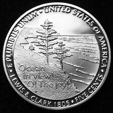 2005 S Jefferson Nickel Mint Proof ~ Ocean View ~ From Original U.S. Proof Set