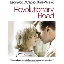 """Revolutionary Road"" Movie stars Leonardo DiCaprio & Kate Winslet on DVD"