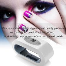 QUICK Drying UV Gel 9W Nail Lamp Polish LED Light HANDS or FEET Nail Curing Spa