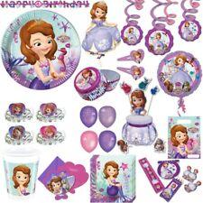 Sofia Les Première anniversaire d'enfant fête Set Anniversaire Princesse Disney