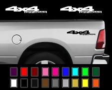2x 2010-2013 Dodge 4x4 Ram 1500 2500 Power Wagon Truck  Decal Set Vinyl Stickers