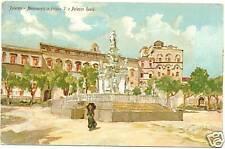 PALERMO - MONUMENTO A FILIPPO V E PALAZZO REALE