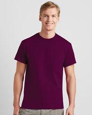 Gildan 5000 hombre adulto 100% Algodón Grueso Camiseta Para Camisas s-2xl