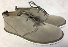 NIB UGG Maksim Chukka Suede Shearling Boots Brindle Gray 10 11 12 13 14