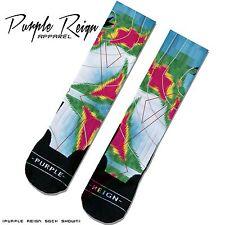 NIKE FOAMPOSITE ONE WEATHERMAN Custom Premium Socks (ALL SZ) DOPE SWAG KICK