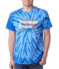 "TIE DYE Noah Syndergaard Jacob Degrom New York Mets ""2016"" jersey  T-shirt"