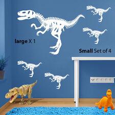 Dinosaures Figures T-REX JURASSIC WORLD PARK Kids Vinyl Wall Sticker Decal A98