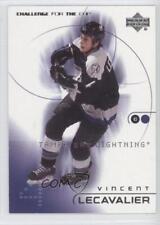 2001 Upper Deck Challenge for the Cup #79 Vincent Lecavalier Tampa Bay Lightning
