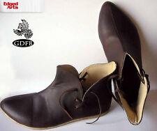 Norman Shoes - Reenactment, Larp, Fancy Dress,Cosplay- Leather