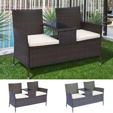 gartenb nke mit tisch g nstig kaufen ebay. Black Bedroom Furniture Sets. Home Design Ideas