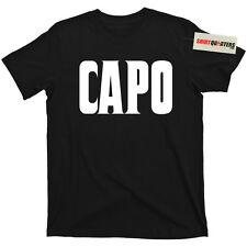 The Godfather Capo Captain 2 II Donnie Brasco John Gotti Don Corleone T Shirt