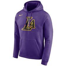 Nike Los Angeles Lakers City Edition Essential Logo Pullover Hoodie Sweatshirt