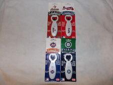 MLB VARIOUS TEAMS TALKING BOTTLE OPENER CUBS BRAVES ASTROS PHILLIES CARDINALS