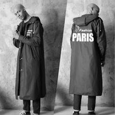 Men's Waterproof Jacket EVA Hooded Raincoat Rain Coat Poncho Rainwear Cool