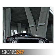 ADV.1 Mercedes CLS 55 (AB347) Voiture Poster-Photo Poster print ART A0 A1 A2 A3 A4