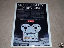 Akai GX-635D Open Reel Ad,Specs,Article, Nice Ad!