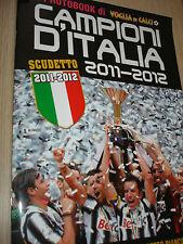 LIBRO BOOK IL PHOTOBOOK FC JUVENTUS CAMPIONE D'ITALIA 2012 CALCIO JUVE NEW