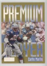 1997 Skybox Premium Players 8PP Curtis Martin New England Patriots Football Card
