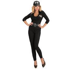 Polizistin Agenten Kostüm Damen Polizei Overall FBI-Agentin FBI Uniform Outfit