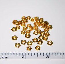 """1/8"""" Gold Flower Eyelets Scrap booking Card Making Stamping"""