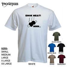 'Ewok Meat! Mmm...' Star Wars / Return of the Jedi / Wookiees mens Funny T-shirt