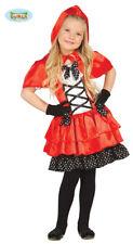 GUIRCA Costume vestito Cappuccetto Rosso carnevale bambina mod. 8563_