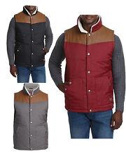 Mens Smith & Jones Iota Padded Lined Gillet Sleeveless Coat Body Warmer Jacket