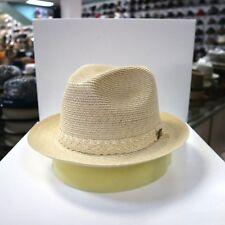 BILTMORE HEMP WEAVE BEIGE FEDORA DRESS HAT